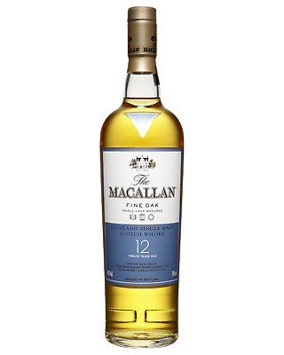 The Macallan 12 Year Old Scotch Whisky 700mL Highland case of 6