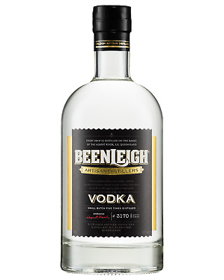 Beenleigh Vodka 700mL Spirits bottle