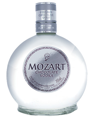 Mozart Chocolate Vodka 700mL Spirits bottle