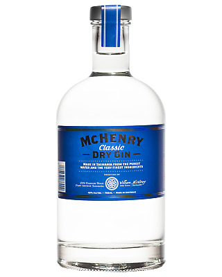 McHenry Classic Dry Gin 700mL Spirits bottle