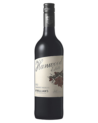 McWilliam's Hanwood Estate Cabernet Merlot Red Wine 750mL case of 6