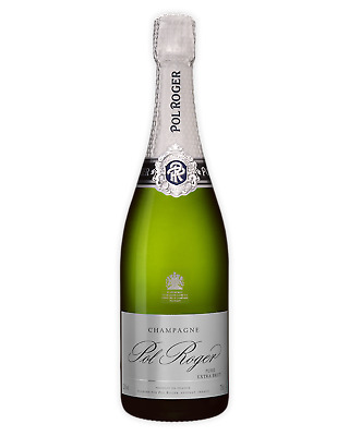 Pol Roger Pure Extra Brut NV Champagne Sparkling 750mL case of 6