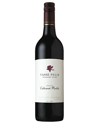 Vasse Felix Cabernet Merlot Red Wine Margaret River 750mL case of 6