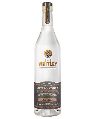 JJ Whitley Potato Vodka 700mL Spirits bottle