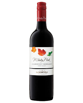 De Bortoli Windy Peak Cabernet Merlot Red Wine 750mL case of 6