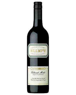 Gramp's Cabernet Merlot Red Wine 750mL case of 6