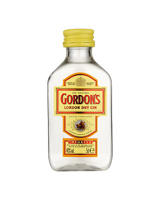 Gordon's London Dry Gin 50mL Spirits bottle
