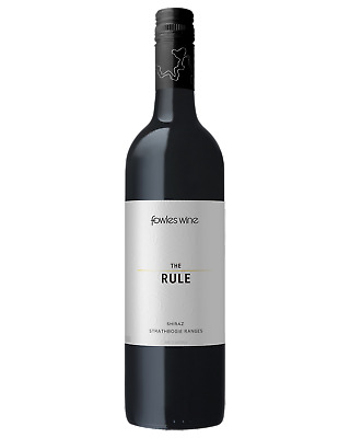 Fowles Wine The Rule Reserve Shiraz Red Wine Strathbogie Ranges 750mL case of 6