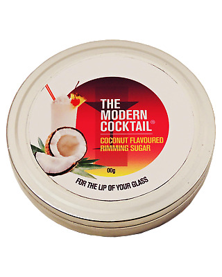 The Modern Cocktail Coconut Flavoured Rimming Sugar Accessories case of X