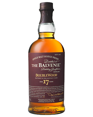 The Balvenie 17 Year Old DoubleWood Scotch Whisky 700mL bottle