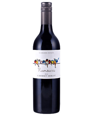 Warburn Rumours Cabernet Merlot Red Wine 750mL case of 6