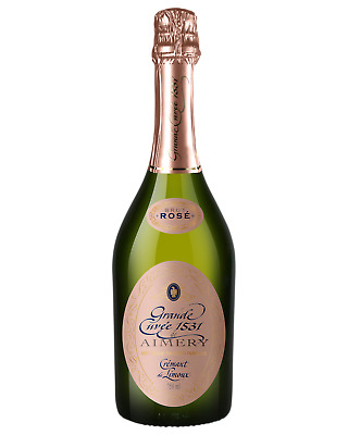 Sieur d'Arques Aimery Rose NV Champagne Sparkling 750mL case of 6
