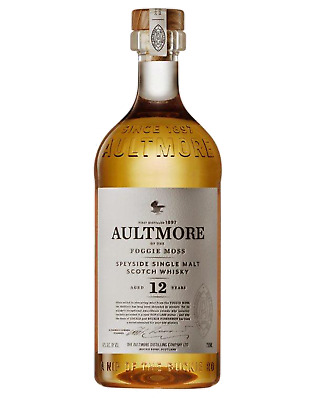Aultmore 12 Year Old Single Malt Scotch Whisky 700mL case of 6