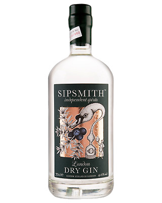 Sipsmith London Dry Gin 700mL Spirits case of 6