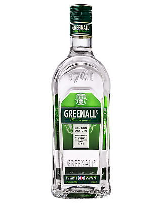 Greenall's Original London Dry Gin 700mL Spirits case of 6