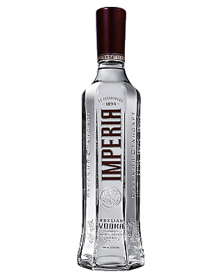 Russian Standard Imperia Vodka 700mL Spirits bottle