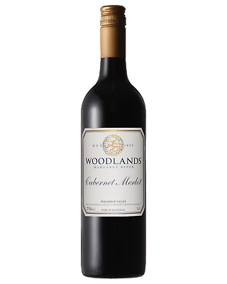 Woodlands Cabernet Merlot Red Wine Margaret River 2013 750mL case of 12