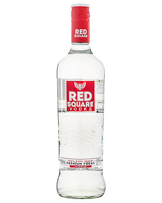 Red Square Vodka 700mL Spirits bottle