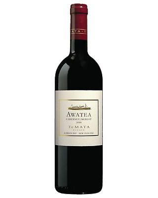 Te Mata Awatea Cabernet Merlot Red Wine Hawke's Bay 750mL case of 6