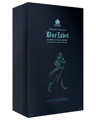Johnnie Walker Blue Label Scotch Whisky & Crystal Glass Gift Pack 700mL pack