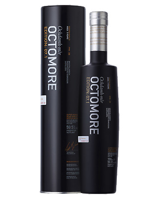 Bruichladdich Octomore 7.1 Scotch Whisky 700mL case of 6
