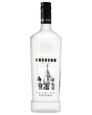 Karavan Premium Vodka 700mL Spirits bottle