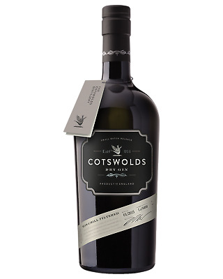 Cotswolds Dry Gin 700mL Spirits case of 6