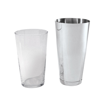 Barware Stainless Steel and Glass Boston Cocktail Shaker Other Drinks