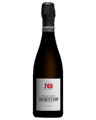 Jacquesson Brut Cuvee 740 Champagne Sparkling 750mL case of 6