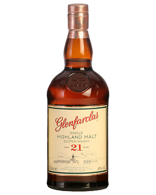 Glenfarclas 21 Year Old Scotch Whisky 700mL Speyside bottle