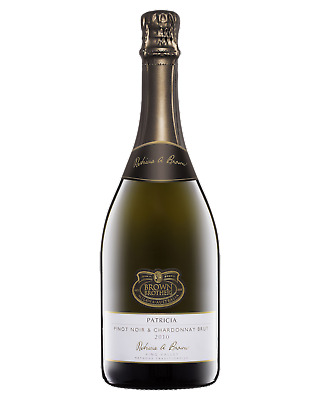 Brown Brothers Patricia Pinot Noir Chardonnay Brut Champagne Sparkling 750mL bot