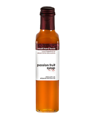 Small Hand Foods Passionfruit Syrup 251mL Other Drinks bottle