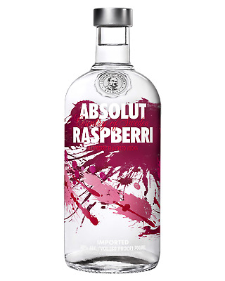 Absolut Raspberri Vodka 700mL Spirits bottle
