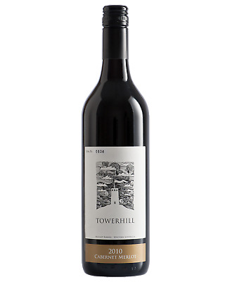 Towerhill Cabernet Merlot 2010 Red Wine Western Australia 750mL case of 6