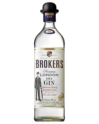 Broker's London Dry Gin 700mL Spirits bottle