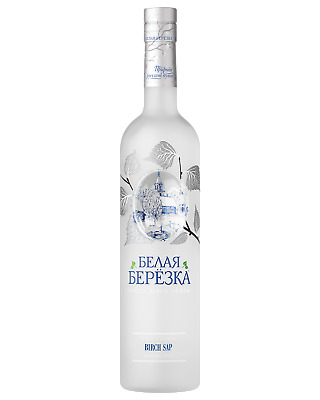 White Birch Silver Russian Silver Vodka 700mL Spirits bottle