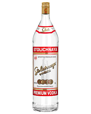 Stolichnaya Vodka 3L Spirits bottle