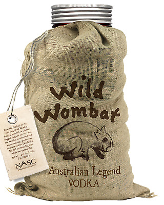 Wild Wombat Pure Vodka 700mL Spirits bottle