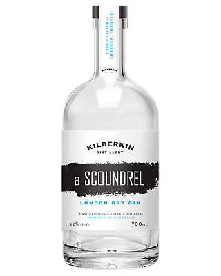 Kilderkin Distillery A Scoundrel London Dry Gin 700mL Spirits bottle