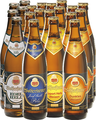 Wolf Beer by Wolferstetter Mixed 20 Pack 500mL case of 20