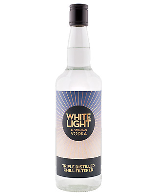 White Light Vodka Original 700mL Spirits case of 12