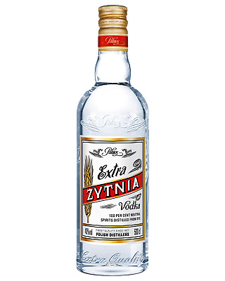 Zytnia Extra Vodka 700mL Spirits bottle