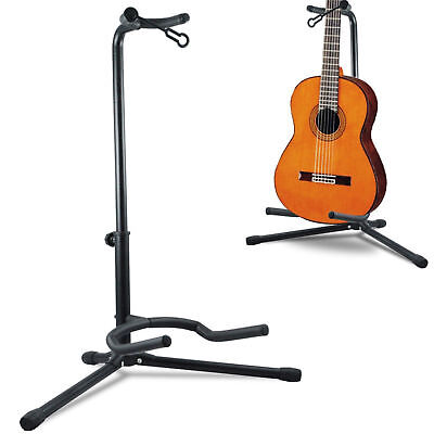 Adjustable Folding Tripod Stand Telescopic Guitar Stand Acoustic Electric Bass