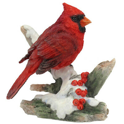 "Cardinal Bird - Collectible Figurine Miniature 3.5""L New"