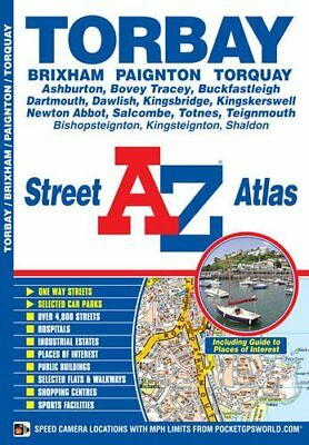 Torbay Street Atlas (London Street Atlases) by Geographers' A-Z Map Company The