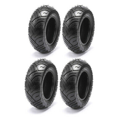 4 Pack 13 x 5.00 - 6 Tyre Tubeless 13x500 6 for E Scooter Mobility Razor Bike Tr