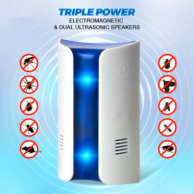Frequency Conversion Ultrasonic Multifunction Insect Repellent Pest Repeller TY
