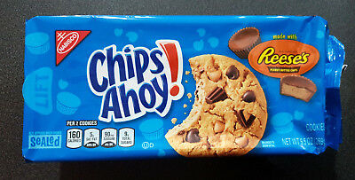 1 x Chips Ahoy with Reeses Peanut Butter Cups Cookies 269g - USA
