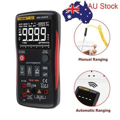 ANENG Q1 True-RMS Digital Multimeter Button 9999 Counts With Bar Analog Graph AU