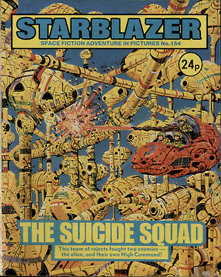 The Suicide Squad,starblazer Space Fiction Adventure In Pictures,no.154,1985